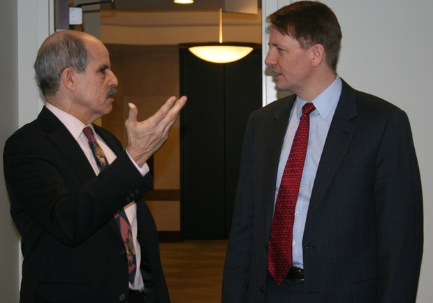 Paul Solman and Richard Cordray