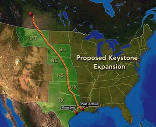 WATCH: Proposed Keystone Pipeline Prompts Protest March, Heated Debate