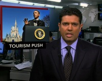 News Wrap: Obama Announces Tourism Efforts at Disney
