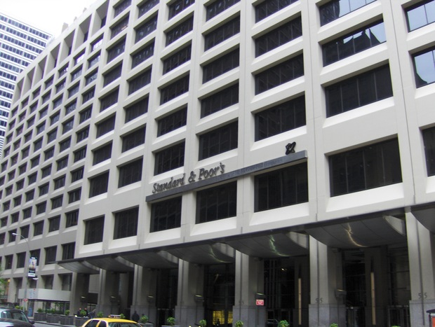 The headquarters for S&amp;P. 
