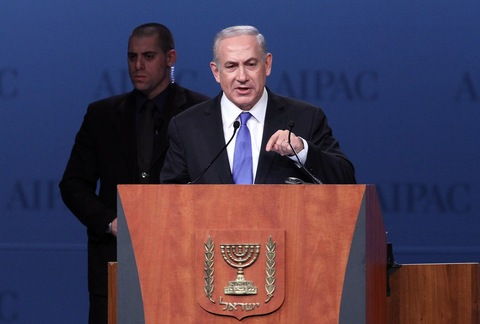 Israeli Prime Minister Benjamin Netanyahu; photo by Chris Kelponis/AFP/Getty Images