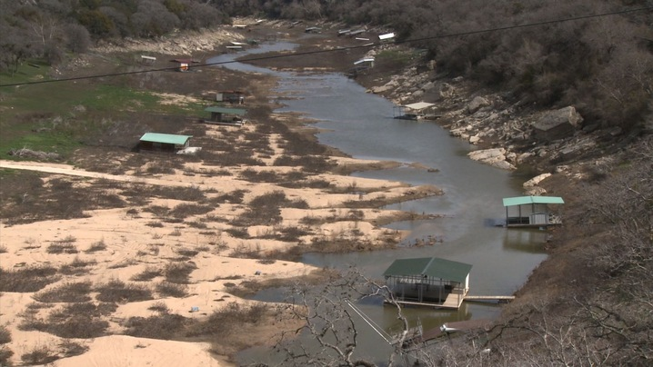 Drought Dries Up Texas