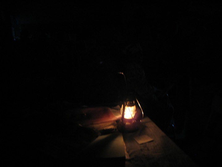 Birth by Lantern Light