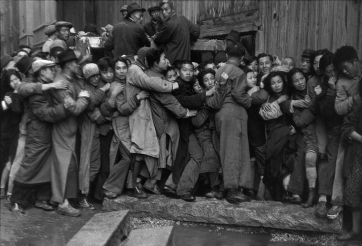 Shanghai. December 1948