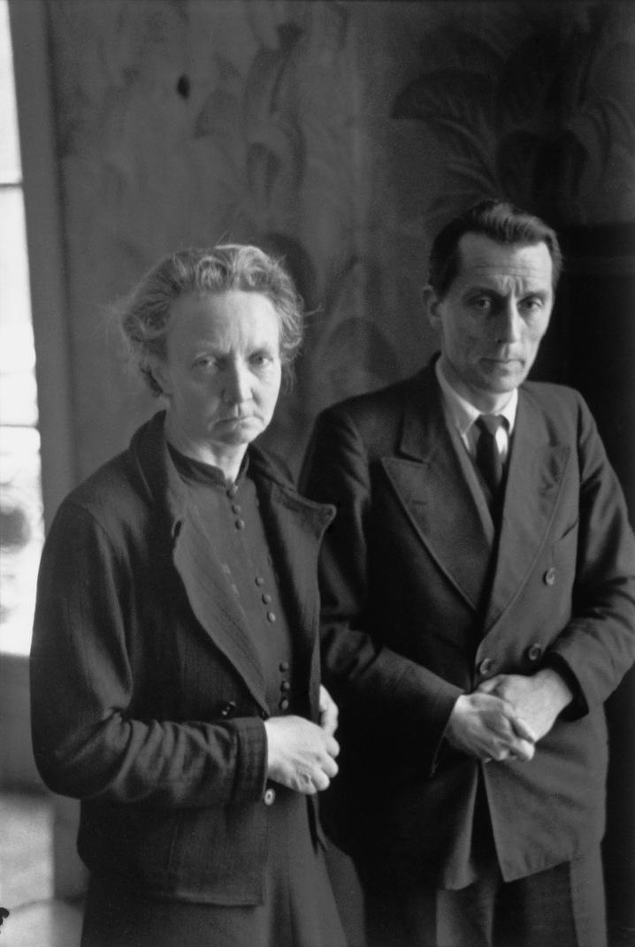 The Curies, Paris. 1945