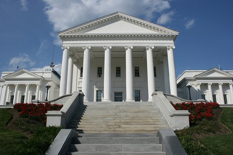 Virginia's State Capitol in Richmond; Creative Commons photo courtesy Flickr user absentmindedprof