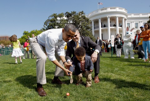 White House Easter Egg Roll; photo by Chip Somodevilla/Getty Images