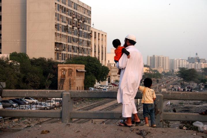 Karachi Skyline