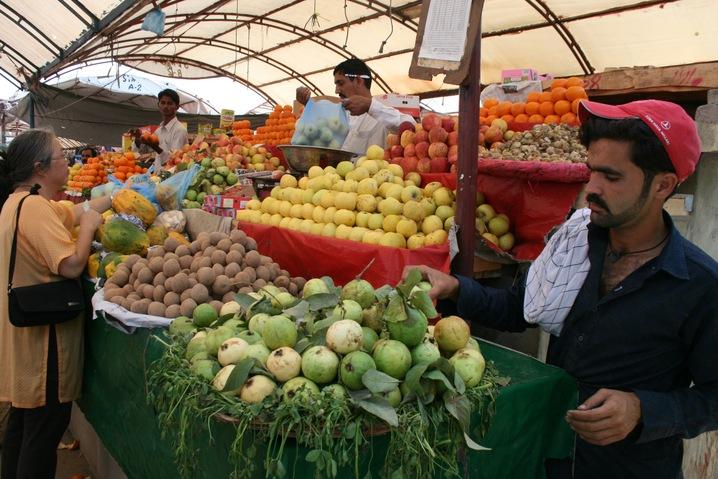 Piled Fruits