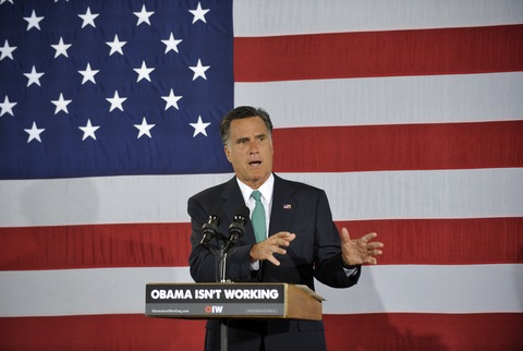 Mitt Romney; photo by Rainier Ehrhardt/Getty Images