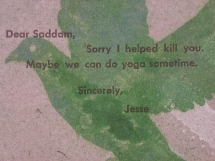 Dear Saddam