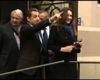France's Sarkozy Faces Uphill Fight in May Runoff Election