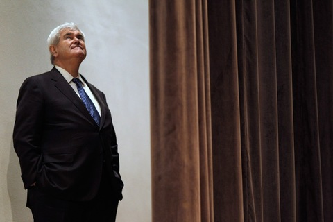 Newt Gingrich; Photo by Chip Somodevilla/Getty Images