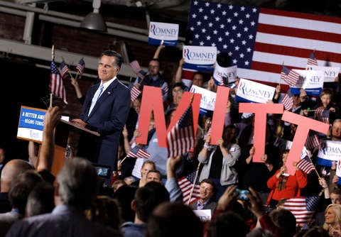 Mitt Romney; photo by Chip Somodevilla/Getty Images