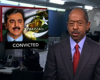 News Wrap: Pakistani Prime Minister Convicted, Gets 'Symbolic' Sentence