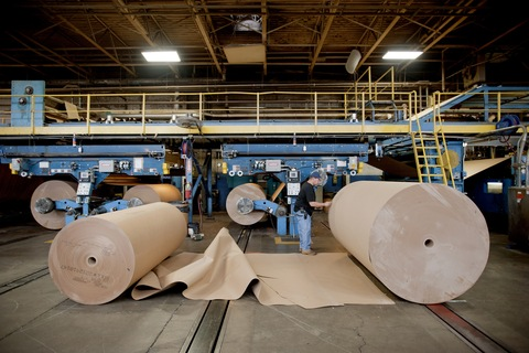 An International Paper Co. employee
