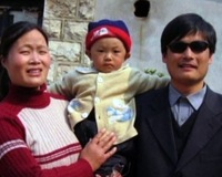 Chinese Dissident Chen Guangchen Leaves U.S. Sanctuary