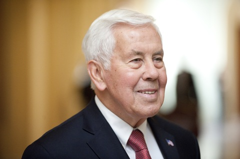 Sen. Richard Lugar, R-Ind.; photo by Bill Clark/CQ Roll Call