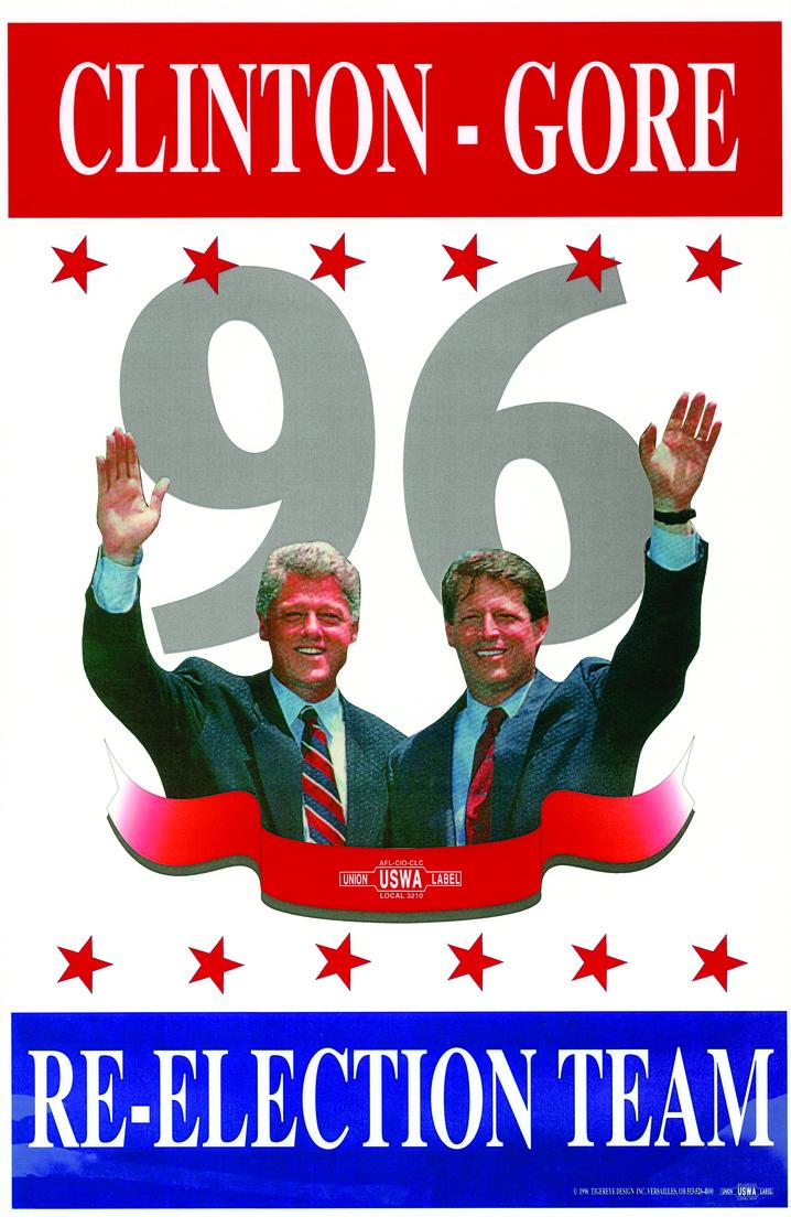 Clinton-Gore, 1996