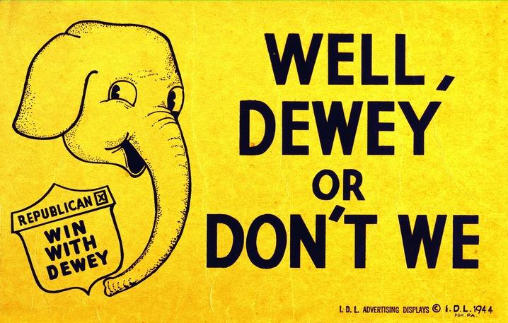 Thomas E. Dewey, 1944