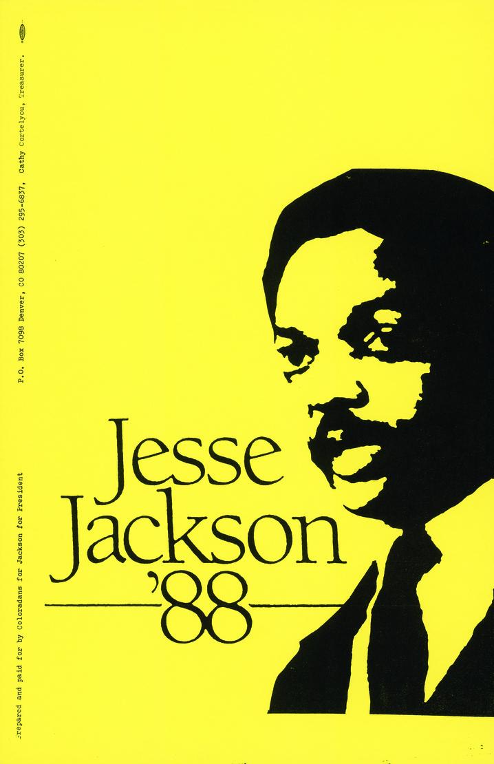 Jesse Jackson, 1988