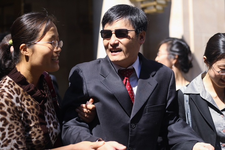 Blind Chinese Lawyer