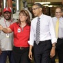 Obama Attacks Romney's Record on Job Growth