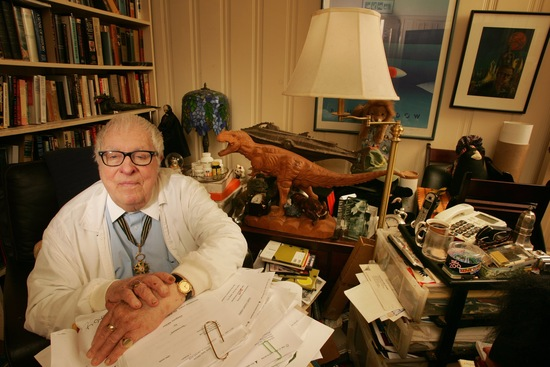 Ray Bradbury; photo by Dan Tuffs/Getty Images