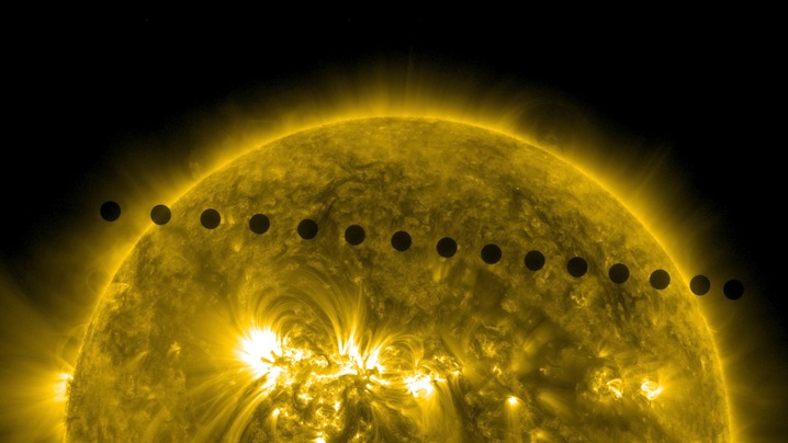 Path of the Venus Transit