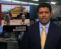 News Wrap: Suicide Bombings in Kandahar Kill at Least 22