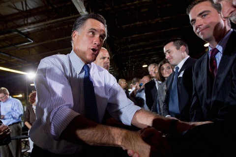 Mitt Romney; photo by Whitney Curtis/Getty Images