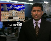 News Wrap: Greece Ushers in New Government Supporting Bailout