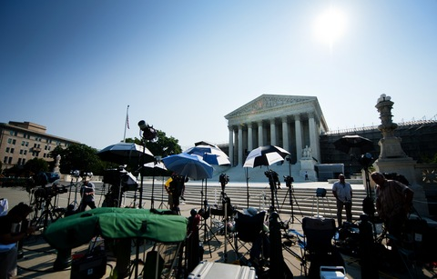Supreme Court; photo by Jim Watson/AFP/Getty Images