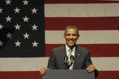 President Obama; photo by Marice Cohn Band/Miami Herald via Getty Images