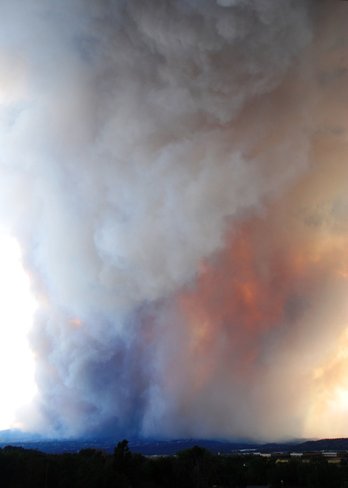 A Giant Plume of Smoke