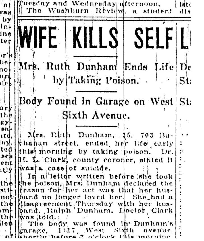 Ruth's Death
