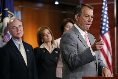 House Speaker John Boehner, R-Ohio; photo by Win McNamee/Getty Images