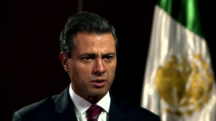 Pena Nieto Outlines Agenda on Drug Trafficking, Economic Reforms
