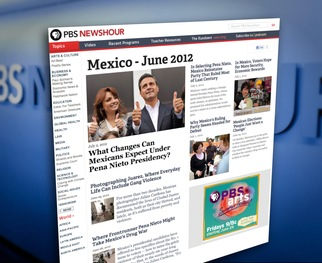 View Margaret Warner's complete coverage of the 2012 Elections in Mexico.