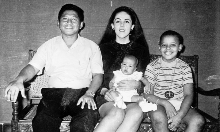 Lolo, Ann, Barry and Maya