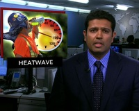 News Wrap: Deadly Storms Strike As Heat Wave Continues