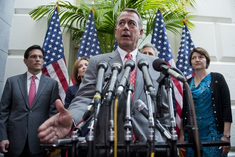 House Speaker John Boehner, R-Ohio; photo by Tom Williams/CQ Roll Call