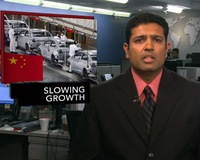 News Wrap: China's Economic Growth at Three-Year Low