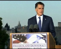 In Israel, Comments by Romney Provoke Some Palestinian Frustration