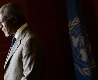 <strong>RELATED STORY -- Finding No Peace Solution to Syria Conflict, Kofi Annan Quits Post as U.N. Envoy:</strong> <em>Revisit an ITN report on former U.N. Secretary-General Annan's decision to resign from the Syria peacekeeping mission.</em>
