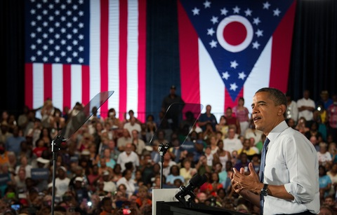 President Obama; photo by Jim Watson/AFP/Getty Images