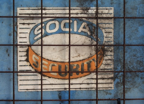 Social Security Wall Art