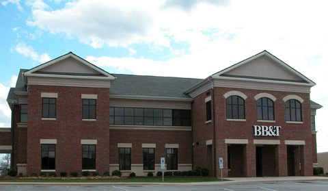 Branch office of BB&amp;T bank