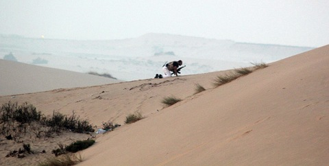 Dune Shooting Position