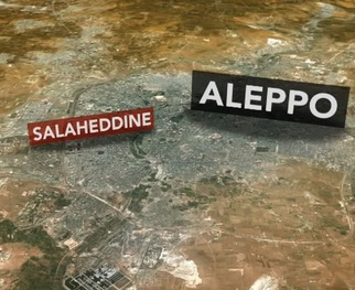 RELATED VIDEO -- Syrian Troops Wage Fierce Ground Assault in Aleppo's Saleheddine District